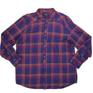INC International Concepts Plaid Shirt NWT XXL